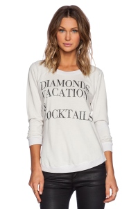 Diamonds Vacation & Cocktails Tee - Revolve Clothing